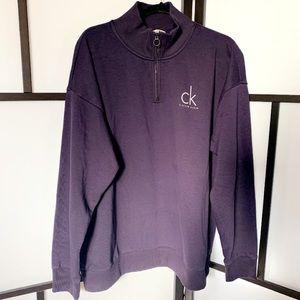 CK Sweater in Plum